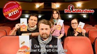 """Das Wühlmäuse-ensemble Für Die Bundestagspetition """"pestizidkontrolle"""" Von Thomas Radetzki"""
