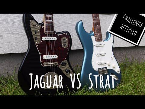 Jaguar VS Stratocaster   Squier Classic Vibe