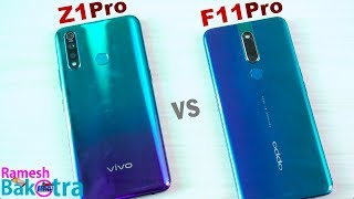 Vivo Z1 Pro vs Oppo F11 Pro SpeedTest and Camera Comparison