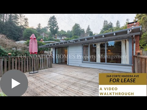 368 Corte Madera Ave - For Lease in Corte Madera