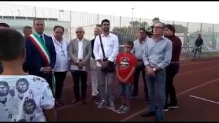 Benedizione campo sportivo Gustavo Ventura