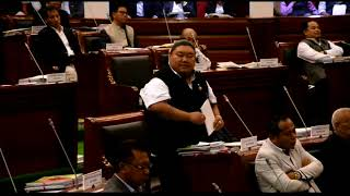 Nagaland MLA Temjen Imna Along, creates History in Assembly by speaking in Hindi