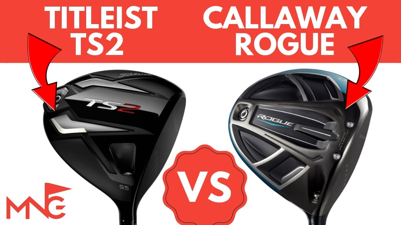 Titleist Ts2 Driver Vs Callaway Rogue Driver Head To Head Youtube