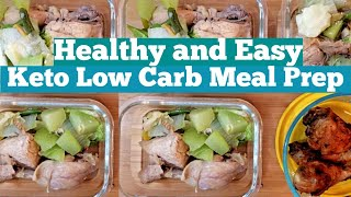 AFFORDABLE KETO AND INTERMITTENT FASTING MEAL PREP  LOW CARB DIET PHILIPPINES
