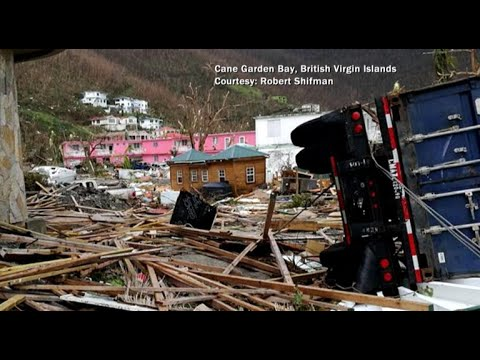 At least 4 dead from Hurricane Irma in British Virgin Islands