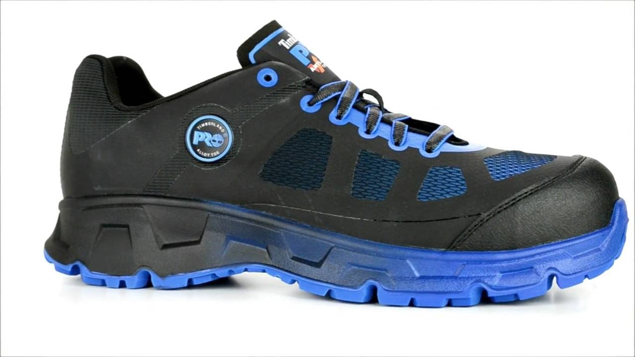 72eb3e548a4 Men's Timberland Pro Velocity Alloy Toe Work Shoe A16KB @  Steel-Toe-Shoes.com