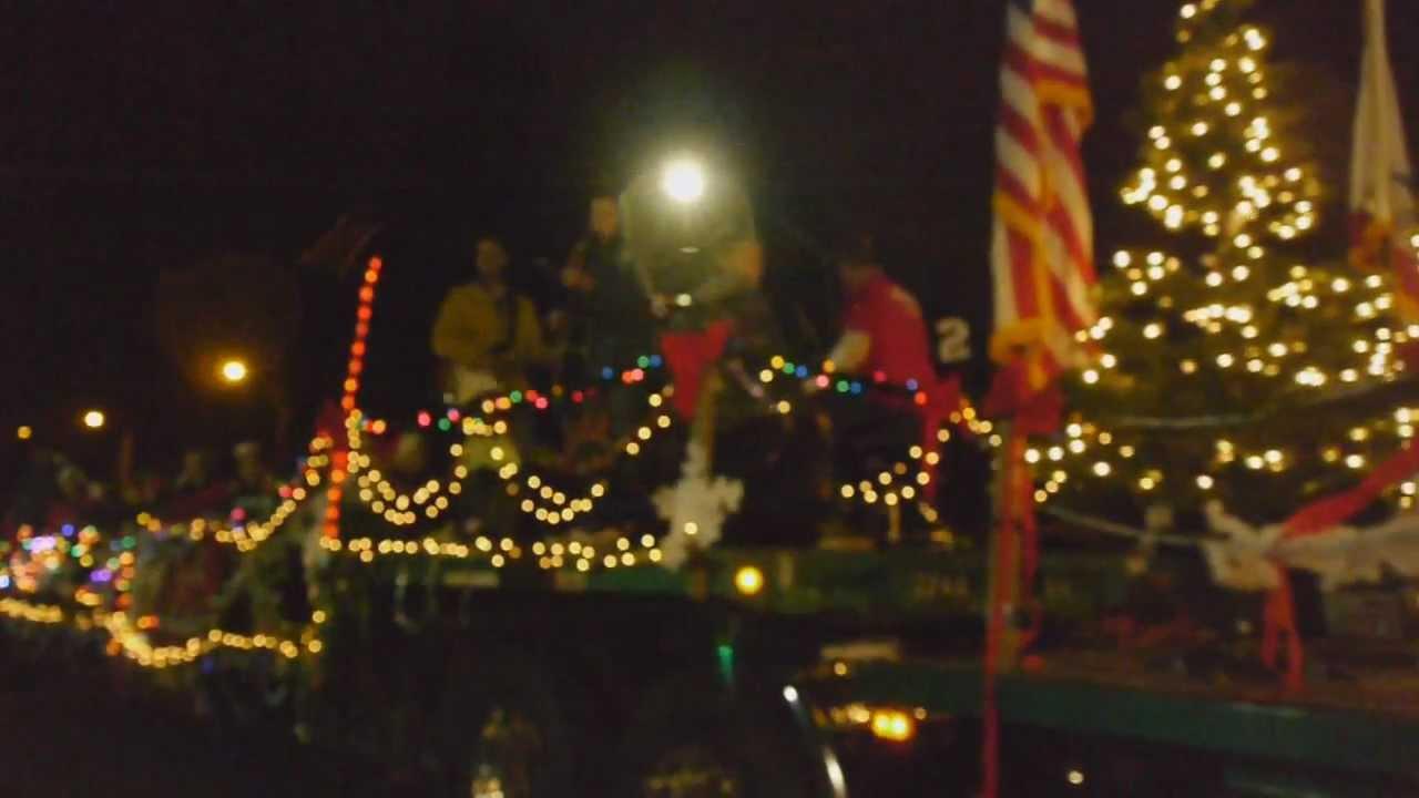 Redlands CA Christmas Parade 2012 part 3. - YouTube