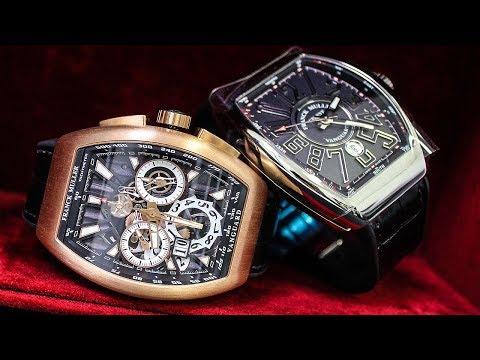 Franck Muller Watches – It's not Frank Miller! - Vanguard, Conquistador, Crazy Hours...
