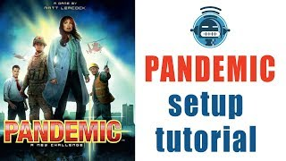 Pandemic board game setup tutorial