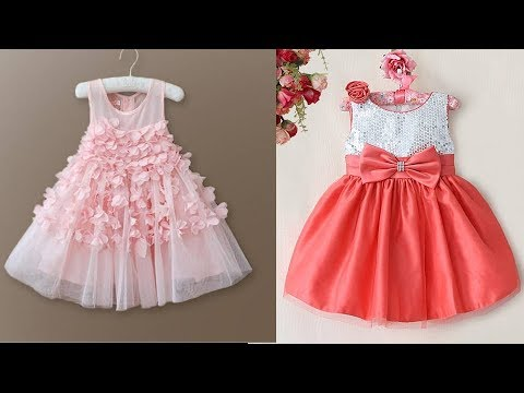ee74d602b887 Latest Party Wear Frocks for Baby Girls - YouTube