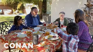 Thanksgiving 2020's Most Important Guest - CONAN on TBS