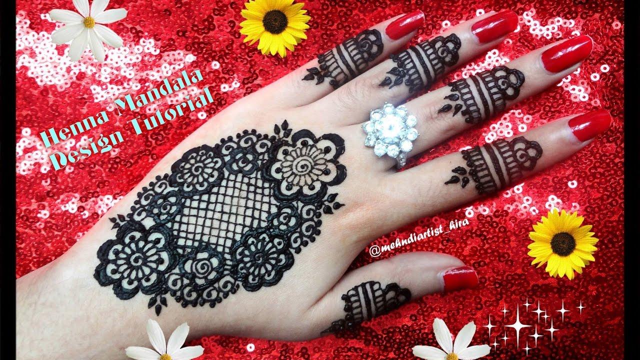 Diy Henna Designs How To Apply Easy Simple Mandala Mehndi Designs