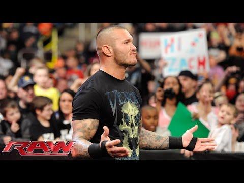 "Randy Orton ""jokes around"" with The Authority: Raw, March 9, 2015"