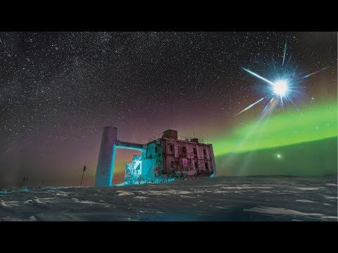 Neutrinos in the ice indicate source of cosmic rays