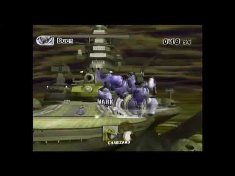 Super Smash Bros. Brawl - Boss Battles in 0:44.30 (IGT) - Charizard (Speed Run)