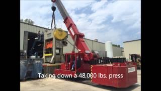 Olinger Machinery Moving 75 Ton Mobilift Kansas City