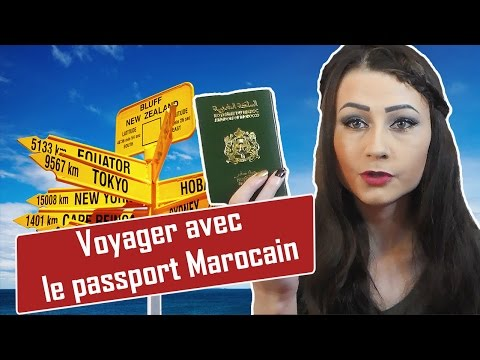Où/Comment voyager avec un passeport Marocain ?