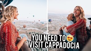 This is why you NEED to visit Cappadocia - Hot Air Balloon & Underground City