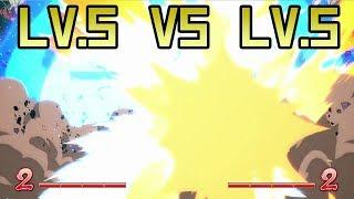 DBFZ: What Happens when 2 Lv.5 Supers Clash? [Reflect/Clash/Dodge Showcase]