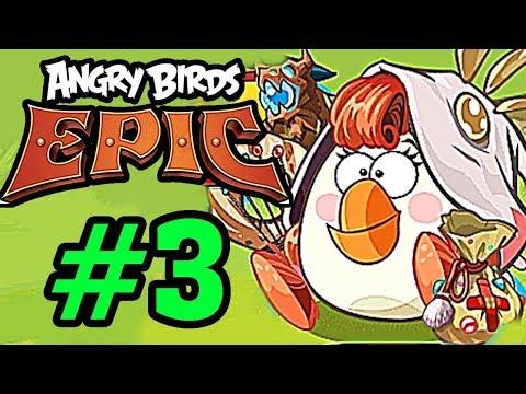 ANGRY BIRDS EPIC - Thành Viên Mới Gia Nhập Nhóm Chim MALTIDA Tập 3