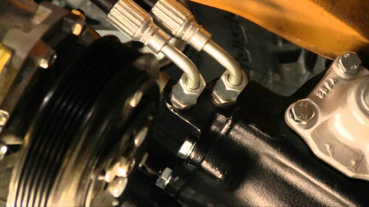 Episode 62 Borgeson steering box in a Bronco Autorestomod