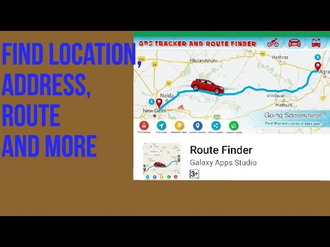 Route Finder: Find Location, Address, Route And More