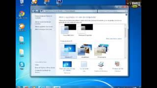 Como ativar a barra transparente do Windows 7