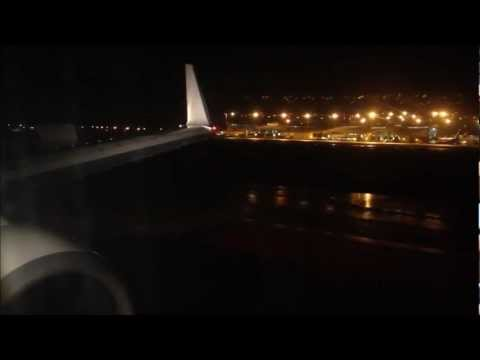 Caribbean Airlines - Air Jamaica 9Y-TAB - BW609 Grenada to Trinidad - Finals, Landing, Taxi to Gate.