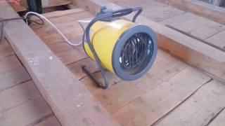 видео Электрическая тепловая пушка Ballu BKX-5
