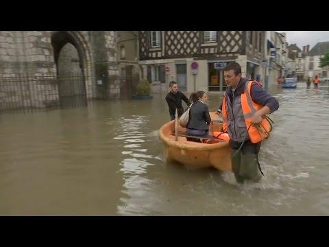 Intempéries: la Seine-et-Marne les pieds dans l'eau