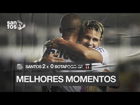 SANTOS 2 X 0 BOTAFOGO-SP | MELHORES MOMENTOS | PAULISTÃO (10/02/20)