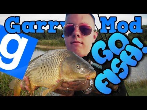 WĘDKARZ ADZISŁAW! | Garry's mod (Z Kumplami) #340 - GO FISH! (#4) /Zagrajmy w