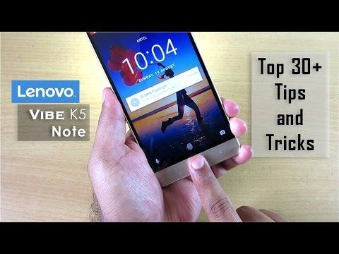 30+ Lenovo Vibe K5 Note Tips and Tricks