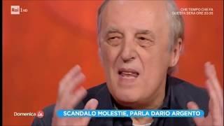 Scandalo molestie, parla Dario Argento - 2ª parte - Domenica In 12/11/2017