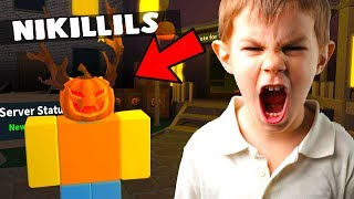 TROLLING KIDS AS THE OWNER! (Roblox Murder Mystery 2)