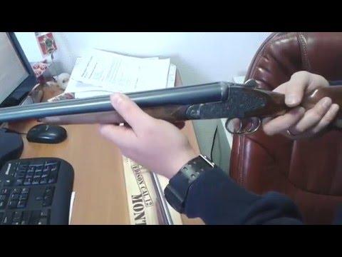 Охотничье ружье двустволка Montecarlo детское игрушечное