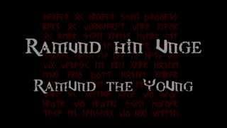 Týr - Ramund hin Unge (Lyrics & Translation)