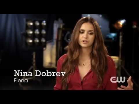 the vampire diaries nina dobrev interview youtube
