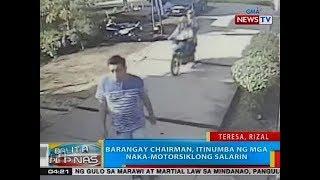 BP: Barangay chairman, itinumba ng mga naka-motorsiklong salarin sa Teresa, Rizal