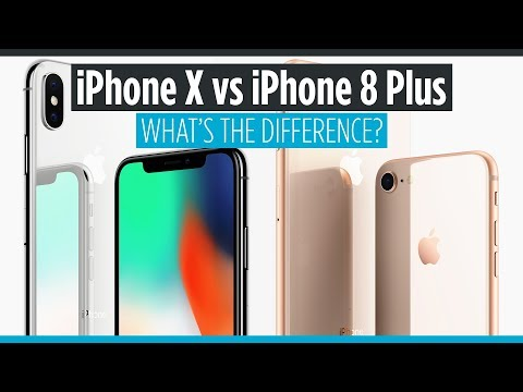 iPhone X vs iPhone 8 Plus - What's the Difference?