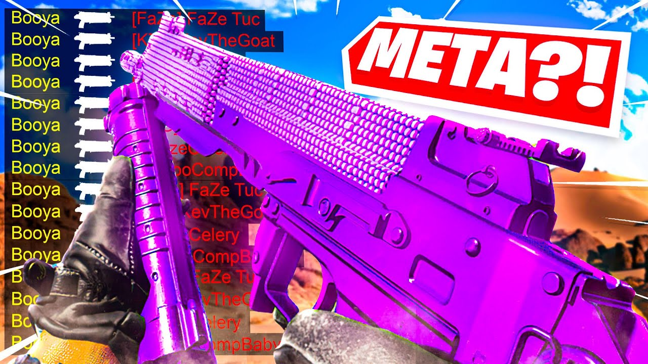 the BULLFROG is the NEW META SMG in WARZONE! (Cold War Warzone)