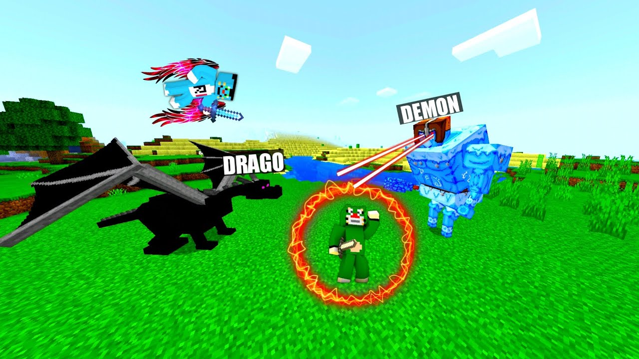 Minecraft   Demons Snaching The Power Of Super Atlas   From Oggy And Jack   Rock Indian Gamer  