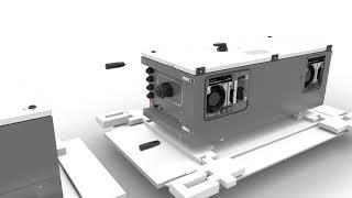 ABB Solar Inverters: PVS-100/120 assembly video