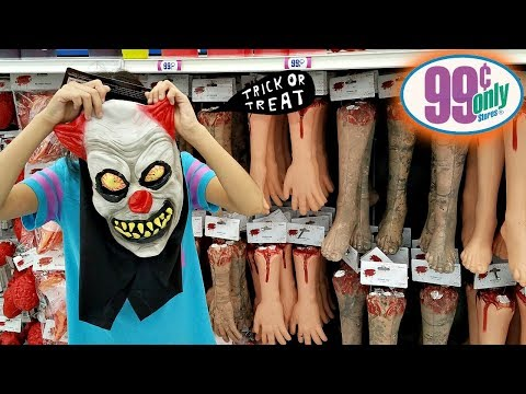 The 99 Cents Only Store HALLOWEEN DECOR SHOP WITH ME  WALK THROUGH 2018