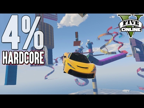 4% HARDCORE XXL T20 Level Asian Parkour (+Download) | GTA 5 - Custom Map Rennen