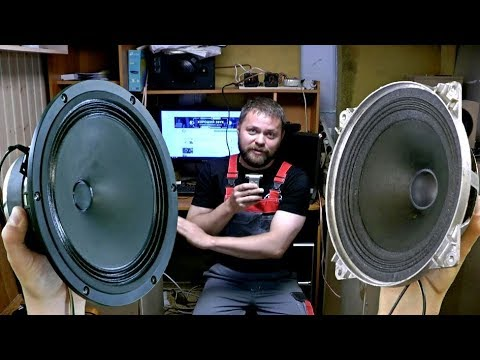 10ГДШ без рупора против Visaton b200 / Напольная акустика своими руками