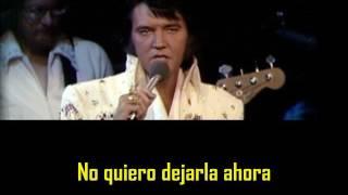 ELVIS PRESLEY - Something ( con subtitulos en español ) BEST SOUND