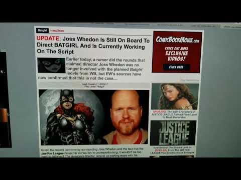 UPDATE: Joss Whedon is Still Directing Batgirl