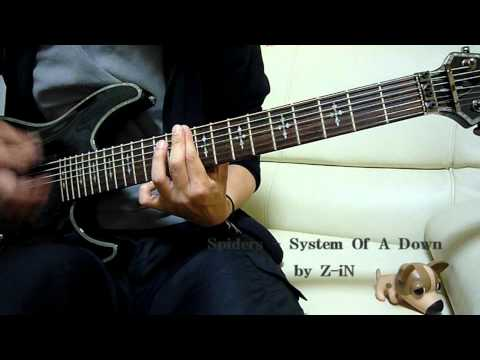 System Of A Down - Spiders - guitar cover by Z-iN
