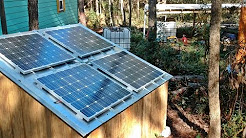 Off Grid In The Tiny! Plug and Play Solar Energy